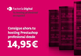 Hosting Prestashop Factoria Digital