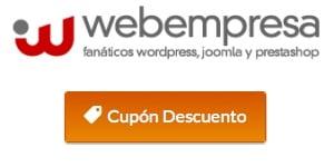 cupon webempresa