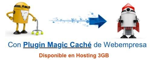 Magic cache Webempresa