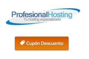 Cupon Profesionalhosting
