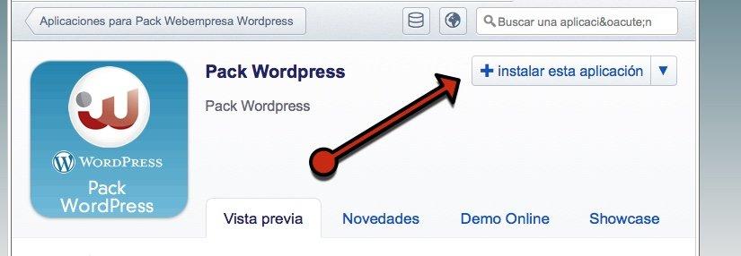 instalar blog wordpress