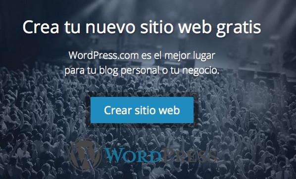 Blog gratis con wordpress
