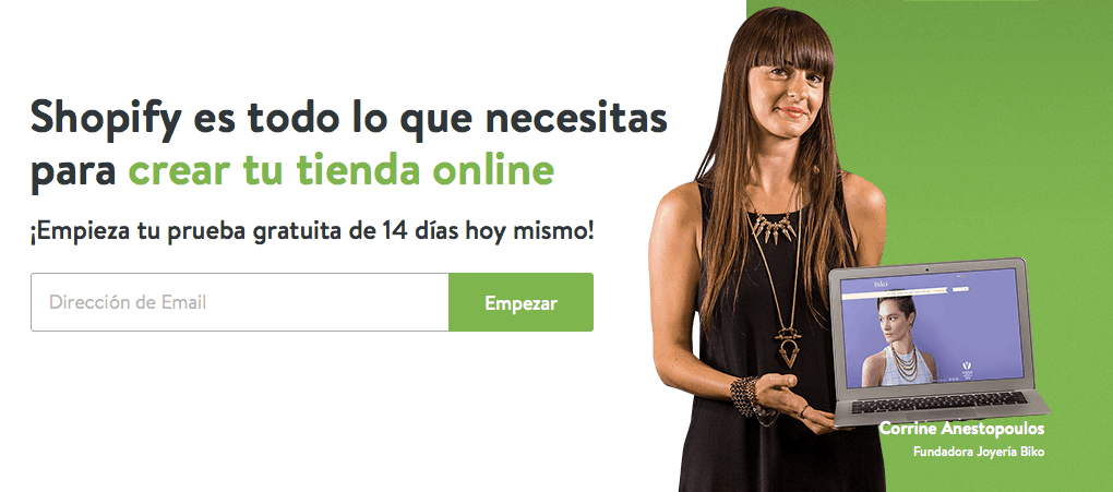 Hacer tienda internet