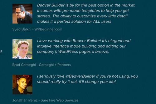 opinion de Beaver Builder