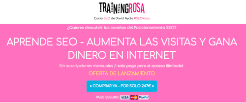 Training Rosa David Ayala