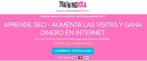Training Rosa David Ayala