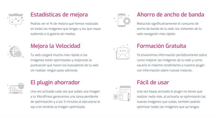 Plugin Optimizer.io Webempresa