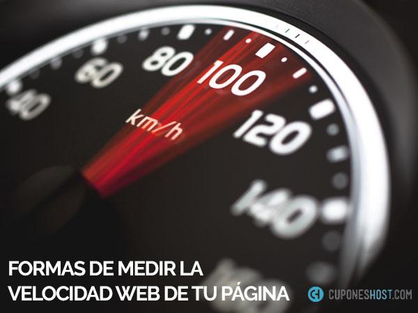 Como medir la velocidad web