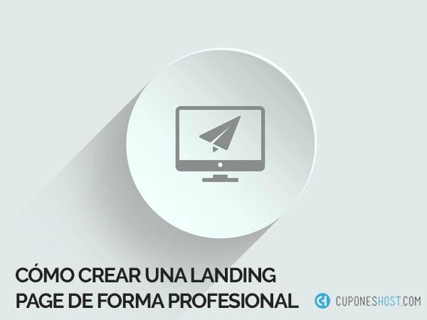Crear landing page