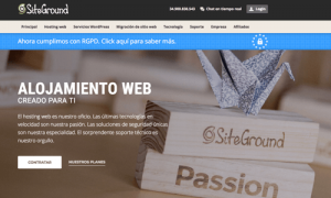 Oferta Siteground hosting Mexico