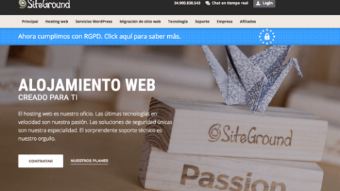 Oferta Siteground hosting