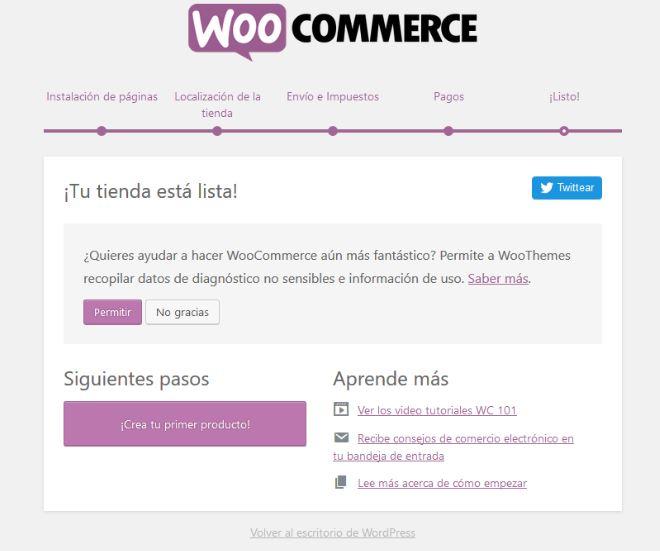 Instalar Woocommerce