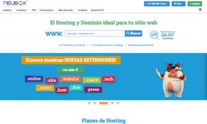 Alojamiento web Mexico Neubox
