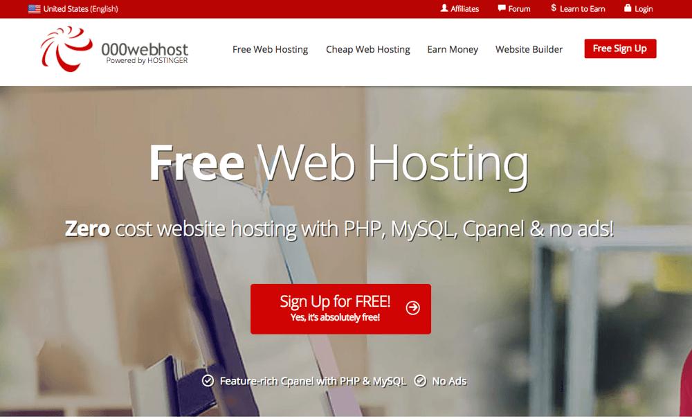 Free Web host 000
