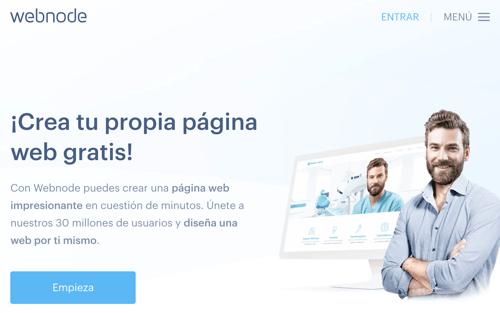Web node crear web gratis