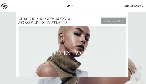 Crear web profesional Squarespace