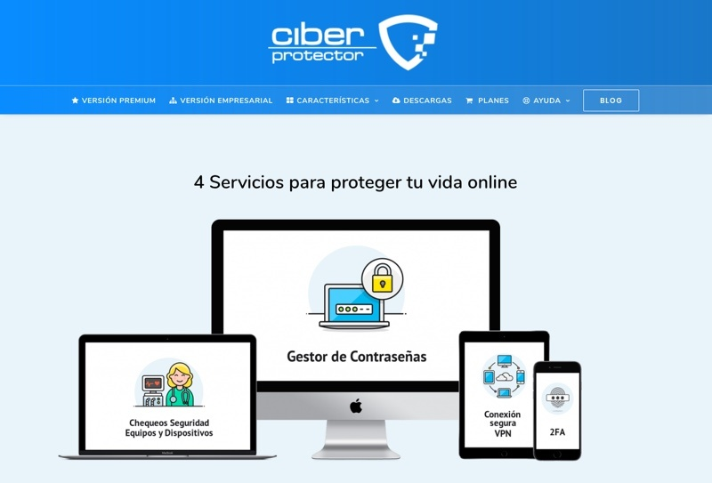 Red Privada Virtual Ciberprotector
